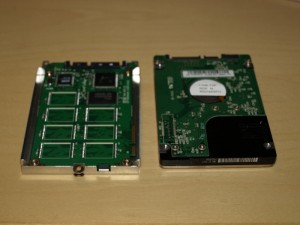 HP2133 Mini-note drive comparison