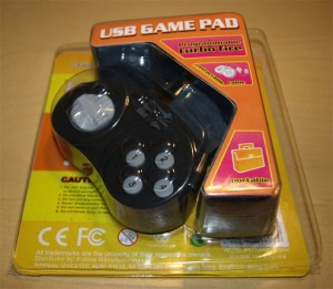 gamemon usb game pad boxed