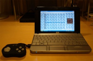 USB Gamepad in use with MAME